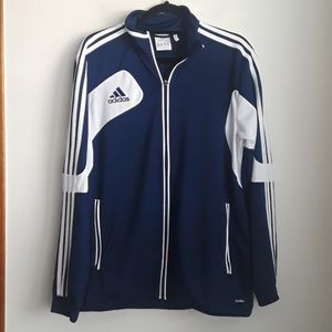 Adidas track jacket Sz L